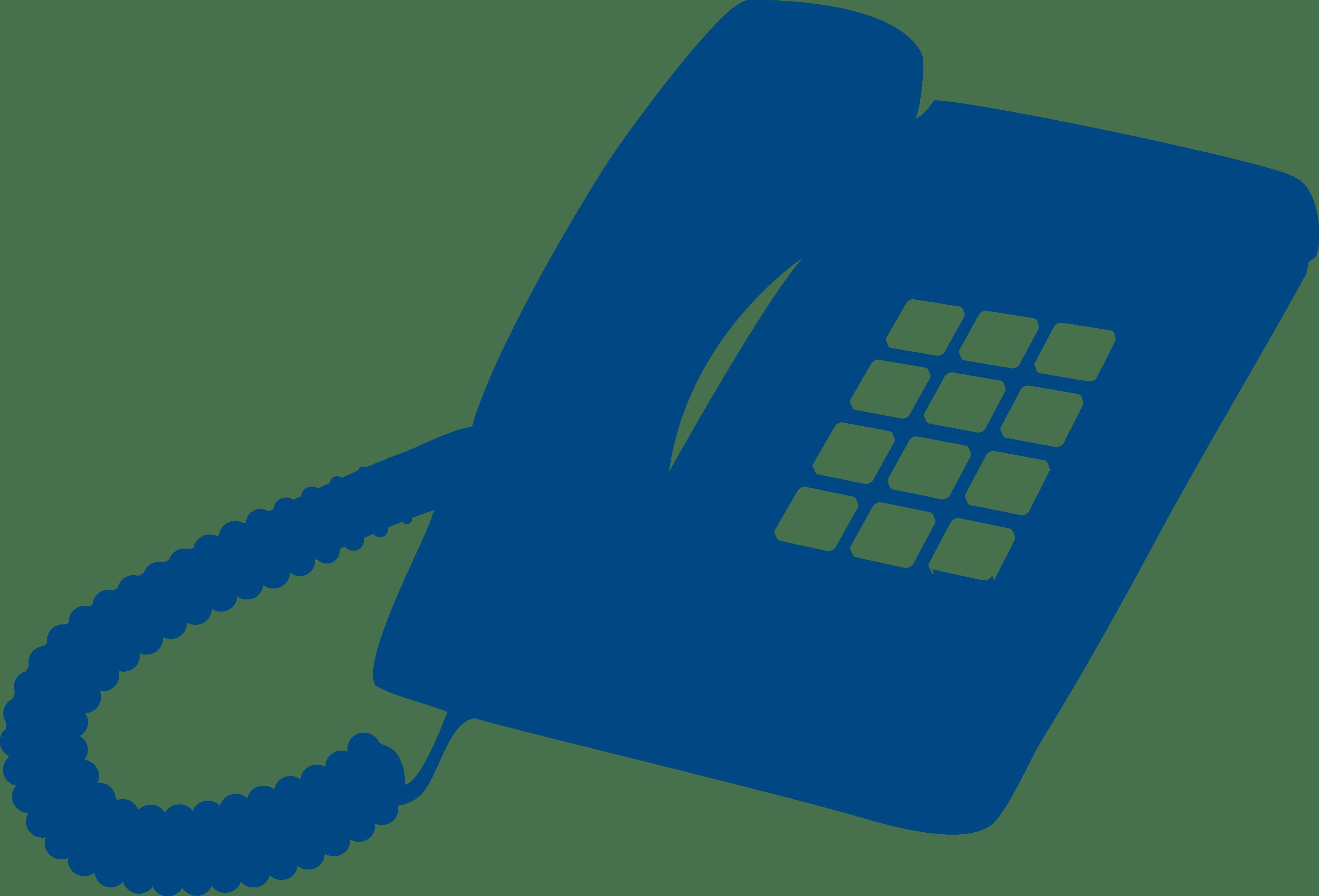phone on hook heritageblue